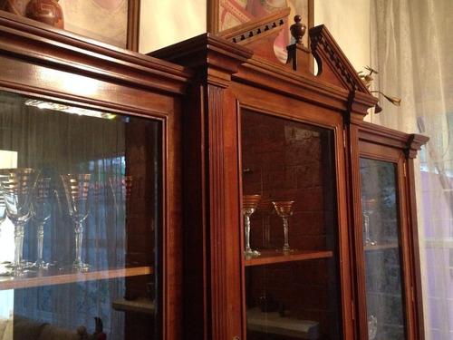 vitrina clásica para comedor / usado / perfectas condiciones