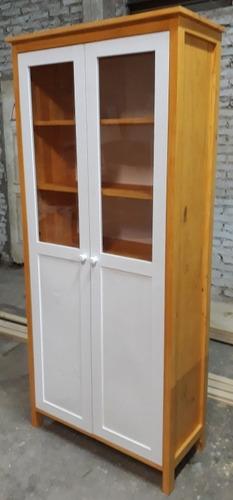 vitrina con cajones y puertas con vidrio! unicas en m. libre