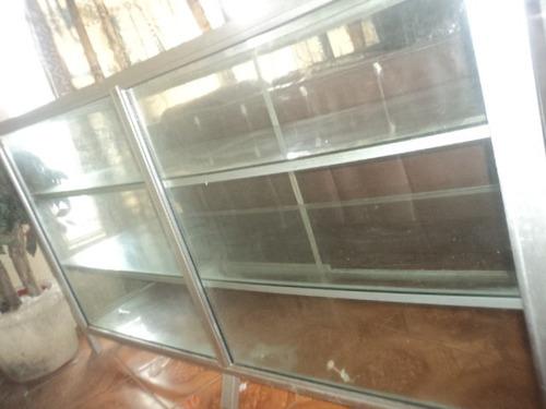 vitrina de aluminio