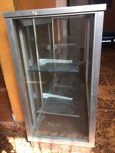 vitrina de aluminio y vidrio de dos puertas 986416534