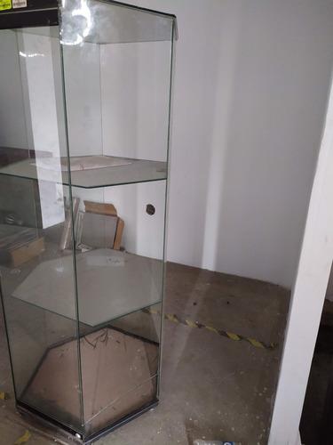 vitrina de vidrio doble (exhibidor)