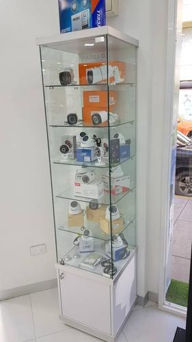 vitrina exhibición teléfono celular ,reloj ,cámaras,350ameri