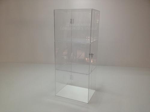 vitrina exhibidor, aparador, mostrador de acrílico cristal