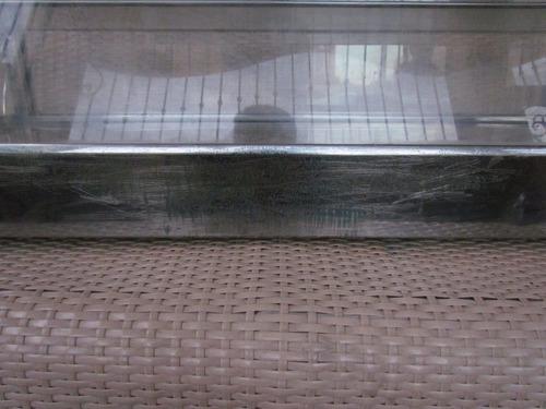 vitrina exhibidor de empanada, calentador 110v usada