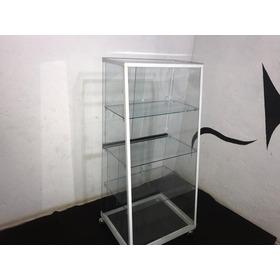 Vitrina Exhibidor De Vidrio 4 Puestos