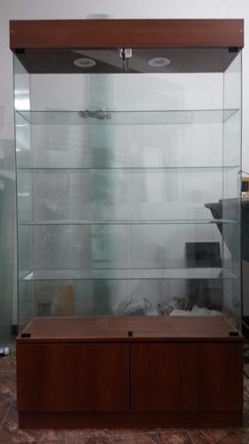 vitrina exhibidora para colecciones