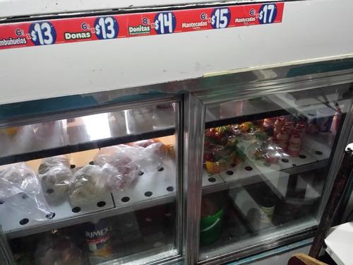 vitrina mostrador refrigerada nieto 2mts