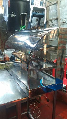 vitrina para fritos