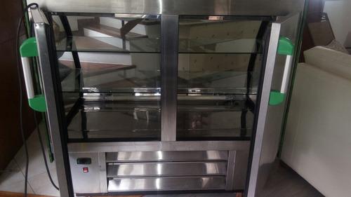 vitrina refrigerada pastelero/ botellero marca supercold