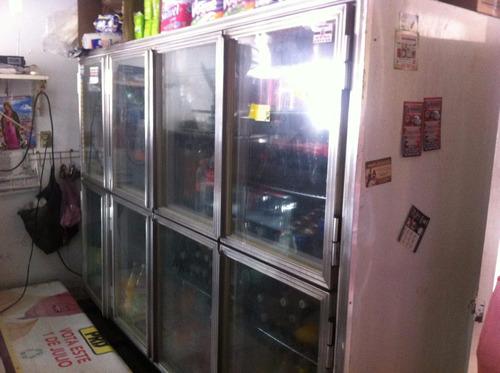 vitrina refrigerador nieto