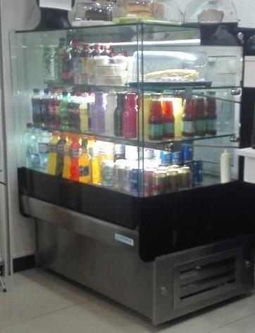 vitrina repostera refrigerada