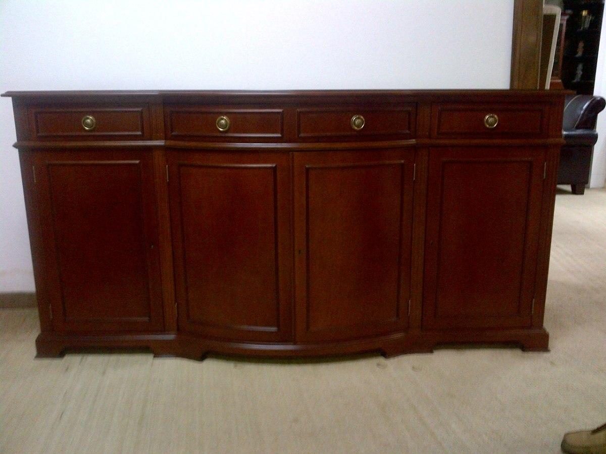 Elegante ceibo seibo vitrina madera nuevo para sala for Modelos de sala comedor modernas