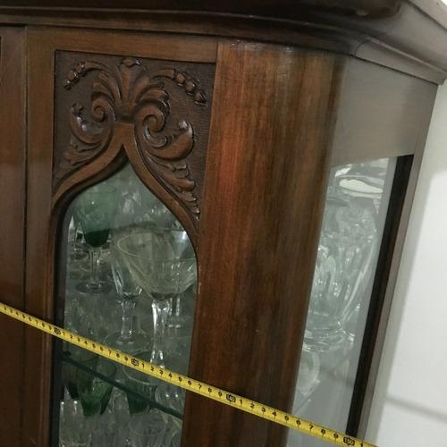 vitrina + valijero modular cristalero