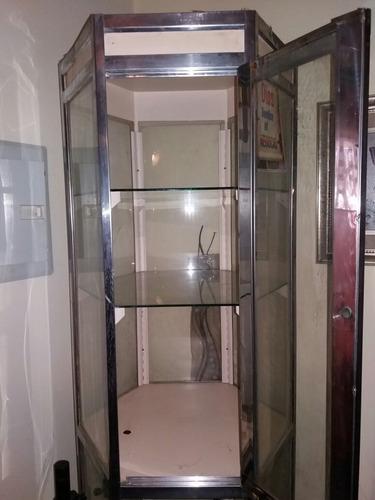vitrina vertical de 2 mts