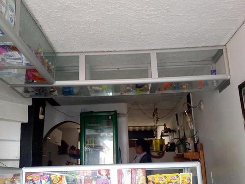 vitrinas en aluminio