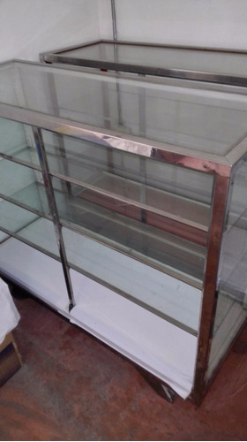 vitrinas exibidoras acero inoxidable remate oferta
