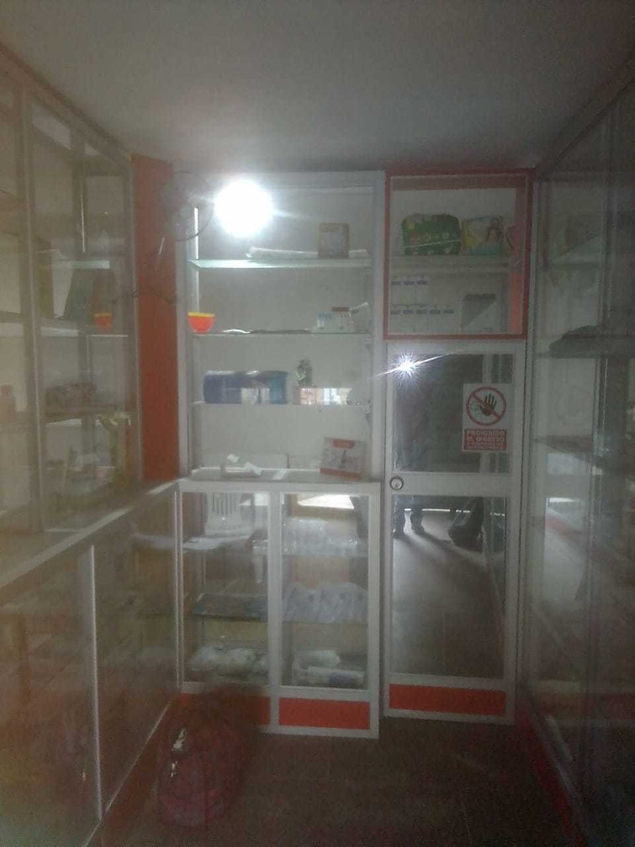 vitrinas mostradoras para botica o farmacia