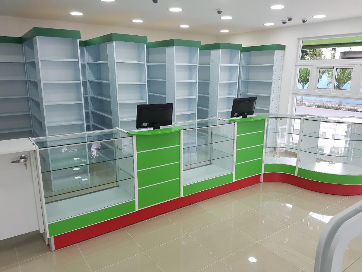 Vitrinas y muebles para farmacias tiendas en mercado libre - Vitrinas empotradas en pared ...