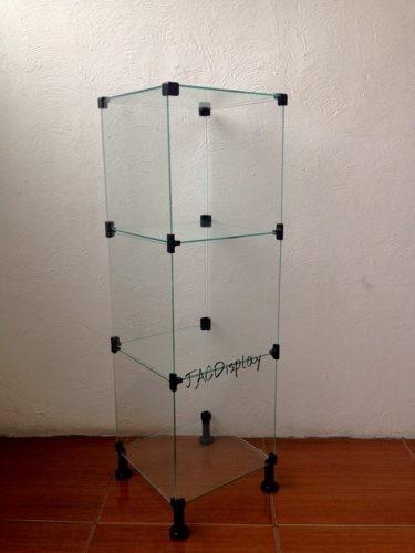 vitrine de loja em vidro temperado balcão de vidro 4 mm.
