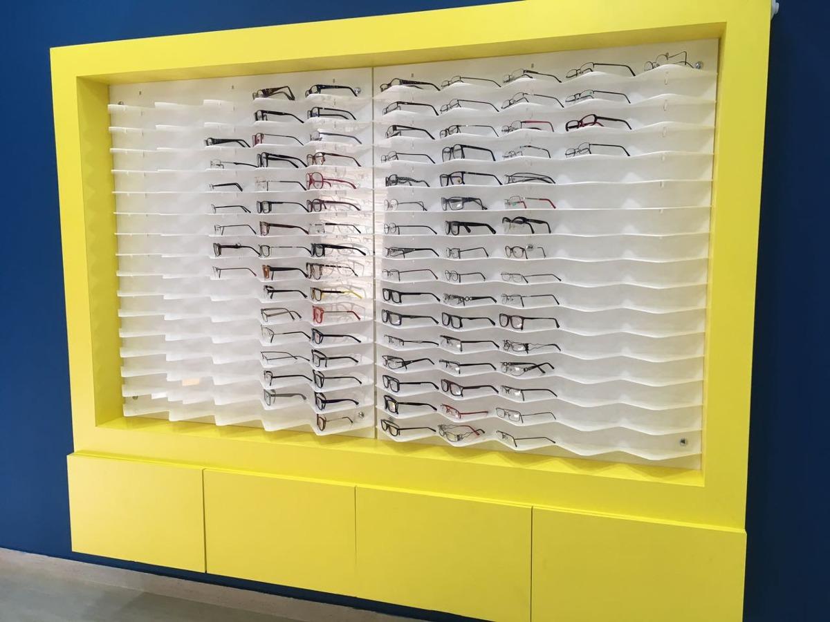 Vitrine Expositor Óculos Completa - R  2.350,00 em Mercado Livre 1f36fa8b75