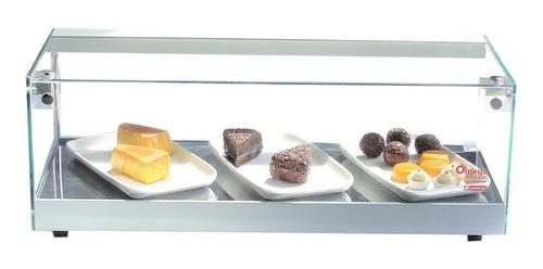 vitrine fria linha elegande 62 cm - com led - r$ 532,50