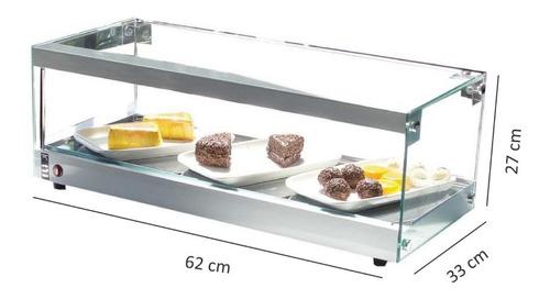 vitrine fria linha elegande 62 cm - r$ 442,11