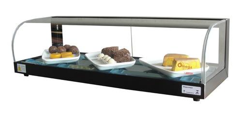 vitrine fria linha luxo 90 cm  -  com led  r$ 646,68