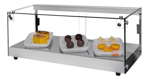 vitrine fria linha marca omega  c/ placas de gel  92 cm