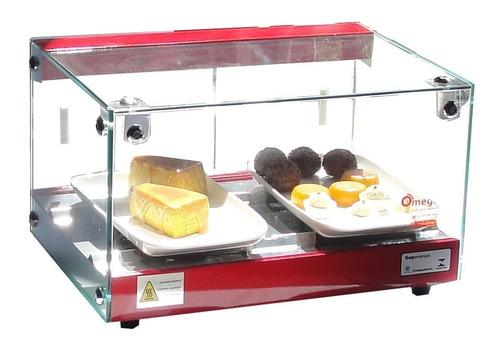vitrine fria placa de gel - marca omega - linha luxo 47 cm