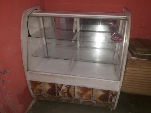 vitrine para bolos pães  e lanches