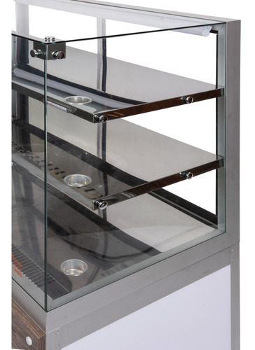 vitrine refriger. 1,0 mt + quente 70cm+ neutro 70cm - omega