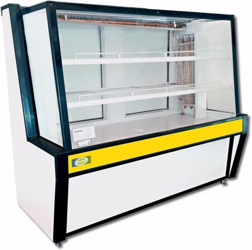 vitrine refrigerada expositor para doces (1.00 metro)