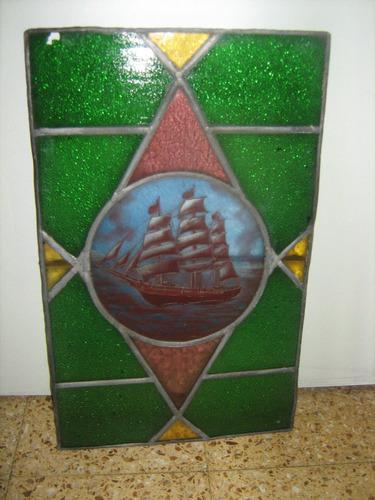 vitro  antiguo  edeal decoracion  52 x 32 cm