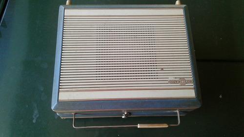 vitrola moto radio portatil antiga funcionando