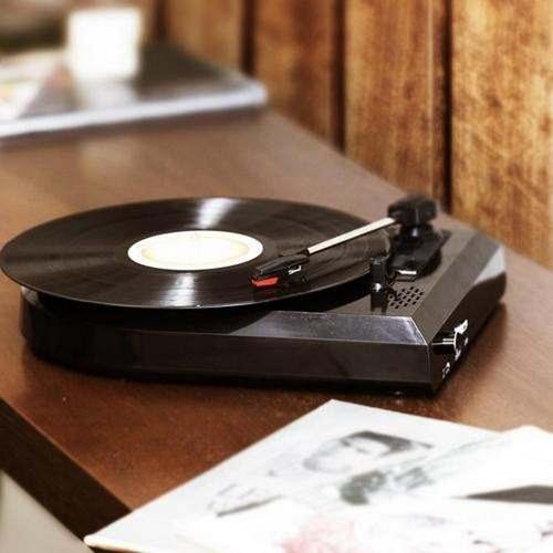vitrola toca discos de vinil com conversor frete gratis