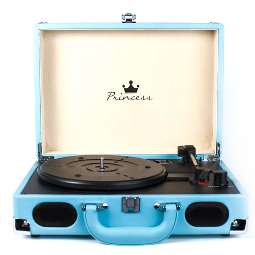vitrola toca discos princess  pool - echo vintage - pd