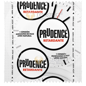 Vitrolero Con 50 Piezas Condones Prudence Con Retardante