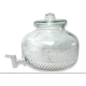 Vitrolero Dispensador De Agua Con Llave Vidrio 11 Litros
