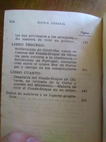 vittorio siri - anécdotas gobierno del conde duque olivares