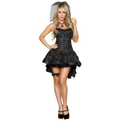 Viuda Disfraz Adulto Novia Gótica Sexy Halloween Disfraces -   180.990 en  Mercado Libre cf528308f5e7