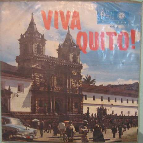 viva quito !   -   volume 2  -  lp importado equador