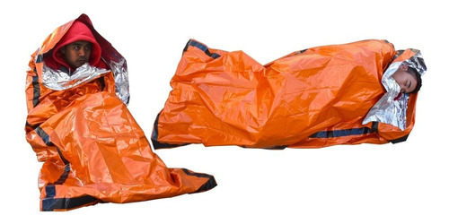 vivac emergencia saco cobertor bolsa dormir supervivencia