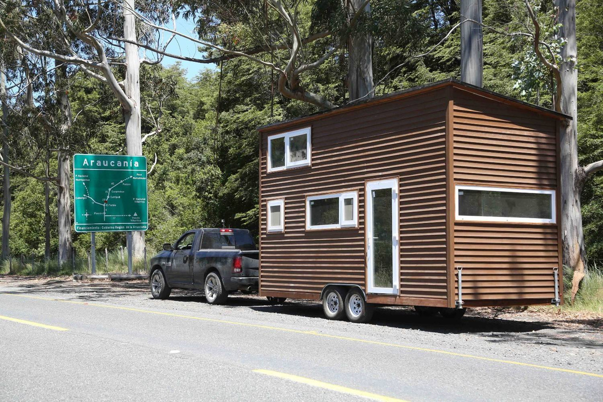 vive la experiencia de estar en una tiny house en pucón