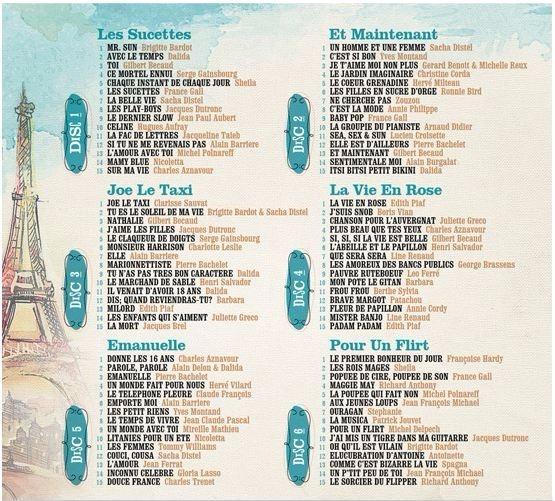 Vive La France 6 Cds Varios Artistas Música Francesa