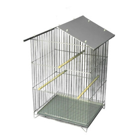 Viveiro Parede Gaiola Zincada Calopsita Periquito Pássaros