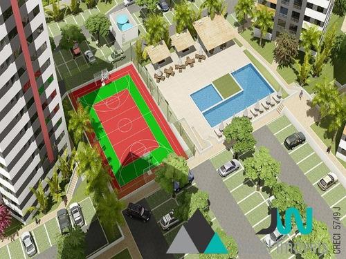 viver bem reserva do parque - venda de apartamento na cidade satélite, com 1 ou com 2 quartos - ap00252 - 2609580