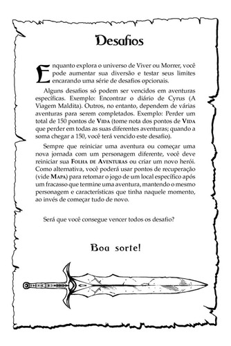 viver ou morrer - volume 1 - athos beuren (rpg livro-jogo)
