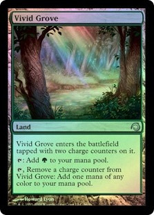 vivid grove x 2 mtg foil