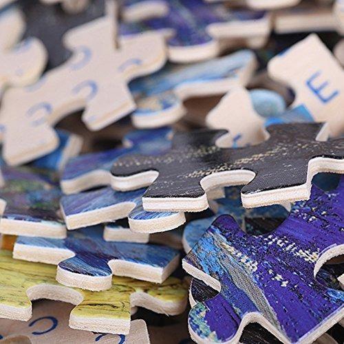 vivid the king wooden jigsaw puzzles 1000 piezas para adulto
