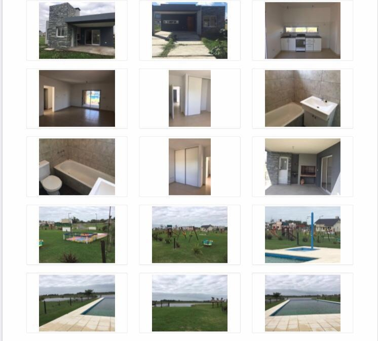 vivienda de 3 ambientes en barrio laguna azul alquiler